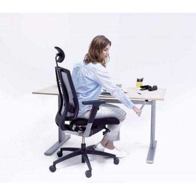 Bureau assis debout Aluforce Pro 110 HC - 1