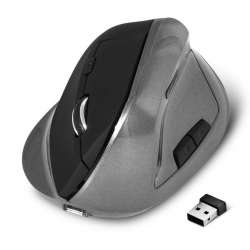 Souris ergonomique sans fil ADVANCE VERTICAL PLUS BLACK - 2