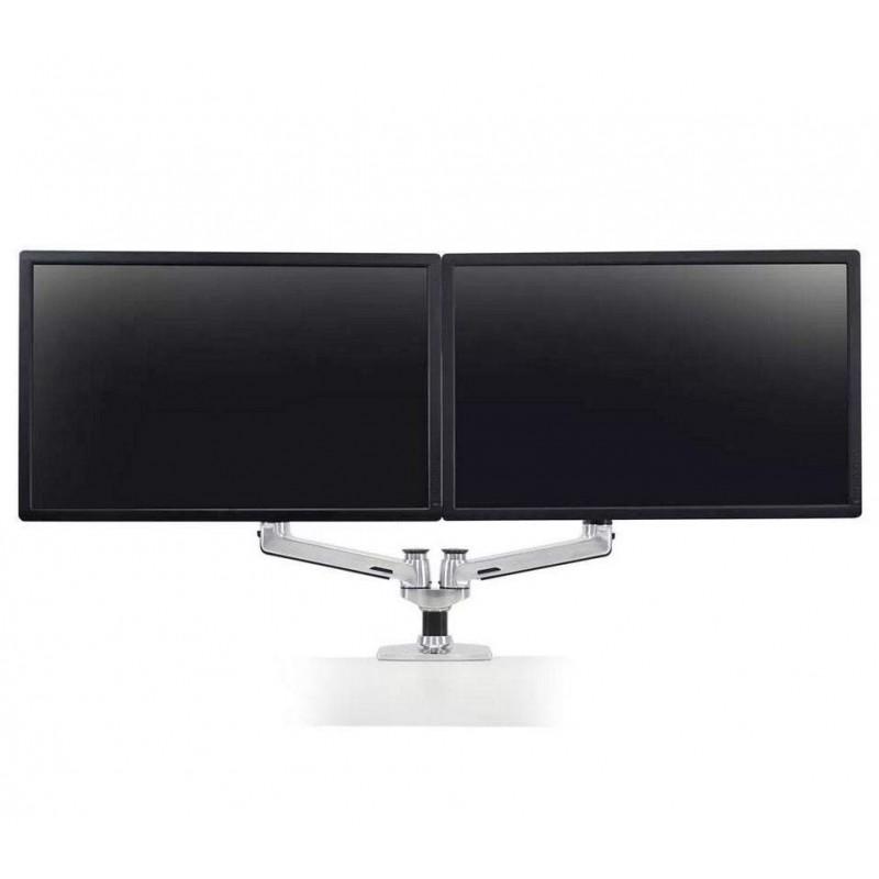 Bras double écran ergotron Argent - 1