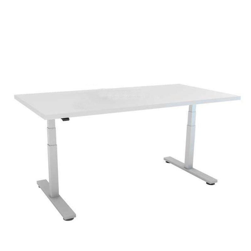Bureau assis debout motorisé 120 x 80 cm avec plateau au choix - 1