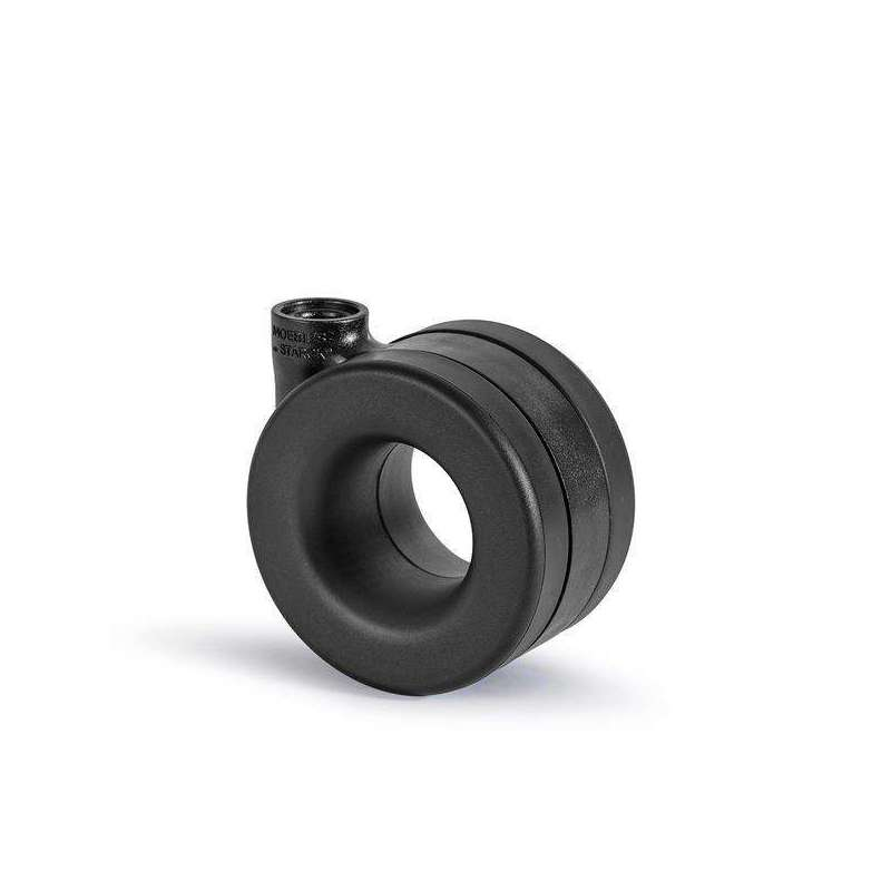 Roulette MOEBIUS NYLON Noir avec pivot - 1