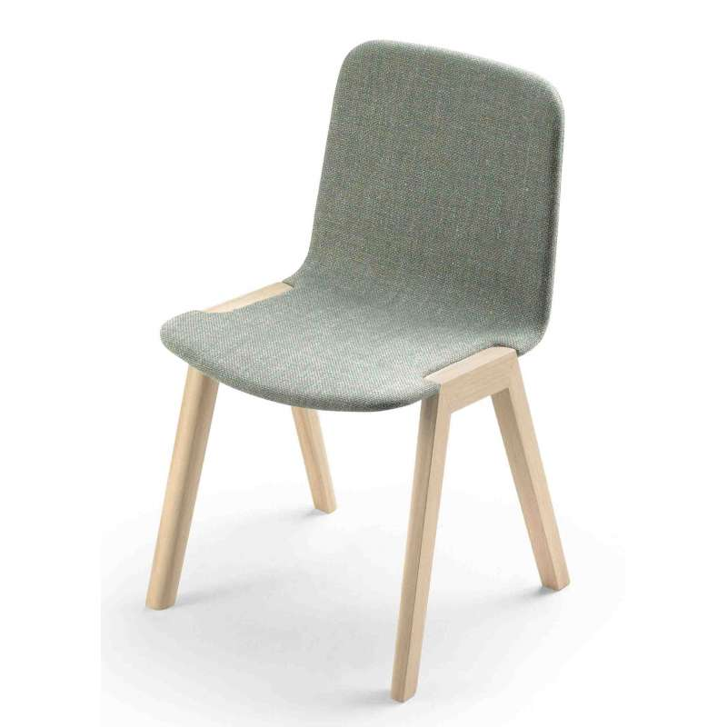 Chaise ALKI Heldu en tissu - 1