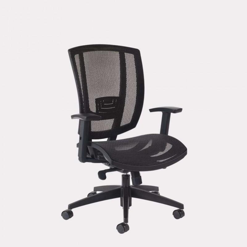 Siège de bureau avec assise et dossier résille GGI Avro 3121 3121 GGI FranceSièges de bureau
