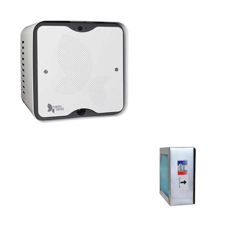 Purificateur d'air anti-odeurs HYGEOLIS + Bloc de filtres HYGEOLIS - 1