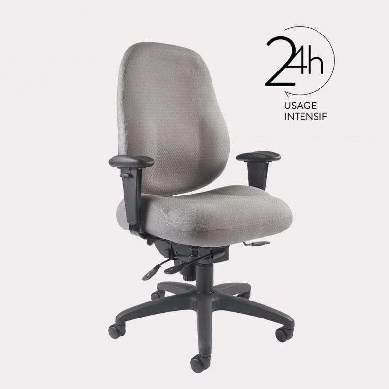 Fauteuil de bureau ergonomique GGI DEXTER 24h - 1