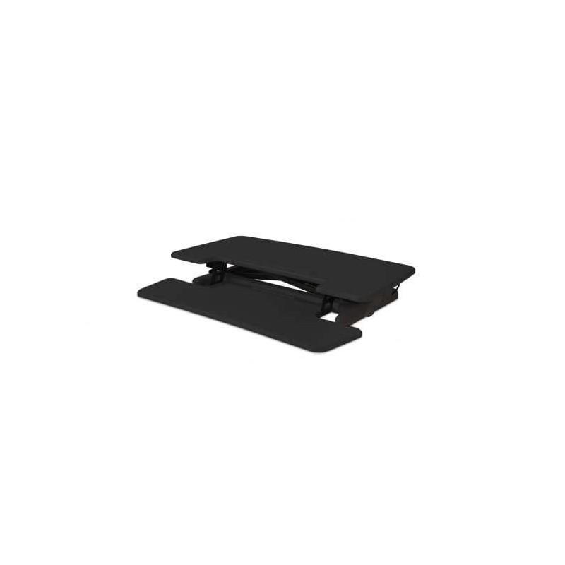 Station assis-debout flexible BAKKER ELKHUIZEN Sit-Stand Desk Riser2 Noir pour un bureau standard - 1