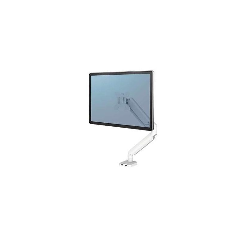 Bras porte-écran simple Fellowes Platinum Series Blanc 8056201 - 1