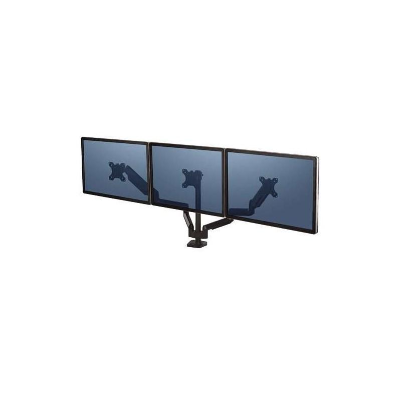 Bras porte-écrans triple Fellowes Platinum Series Noir 8042601 - 1