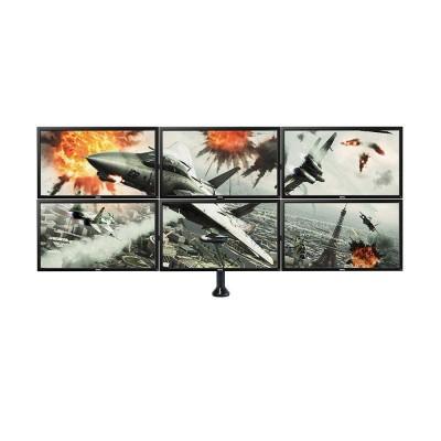 Support bras 6 écrans Noir - 2