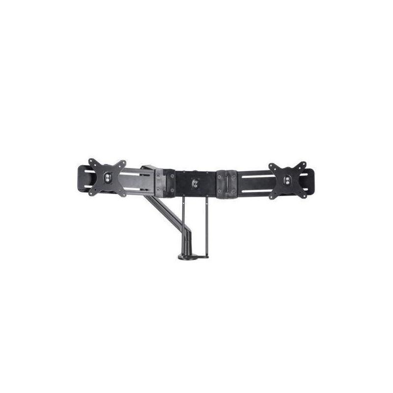 Rail double écran pour bras Libero Noir - 1