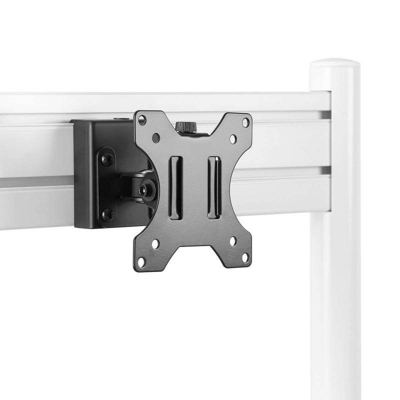 Support moniteur PC 13´´- 27´´ pour rail de fixation Slatwall - 1