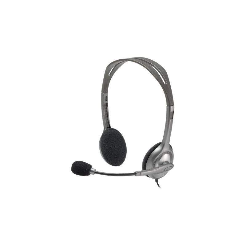 Micro casque téléphonique Logitech Stereo Headset H110 - 1