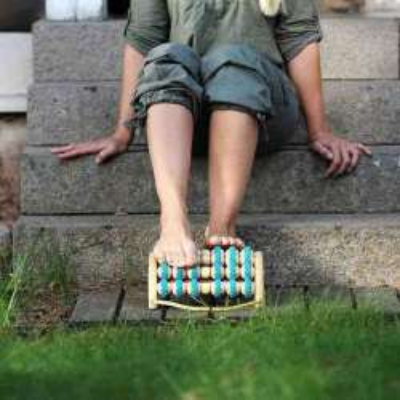 Appareil de massage SISSEL® FIT ROLLER à pied double Kingsize - 2