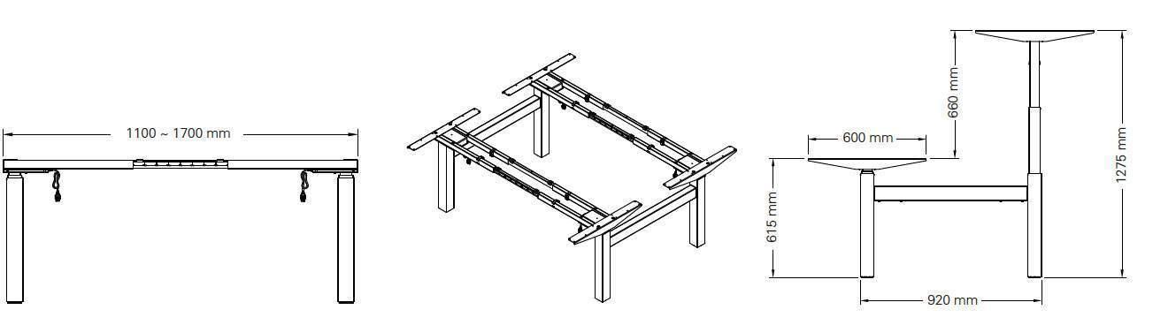 detail 470SLS bench