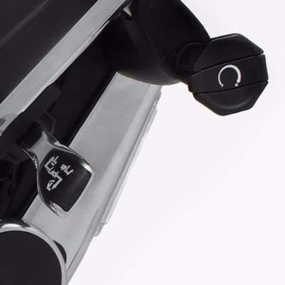 molettes de réglage ergohuman siège ergonomique