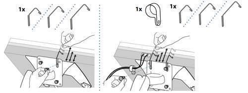 schema bras support ecran reglage
